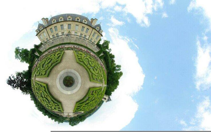 Versailles w/ 360 lens.
