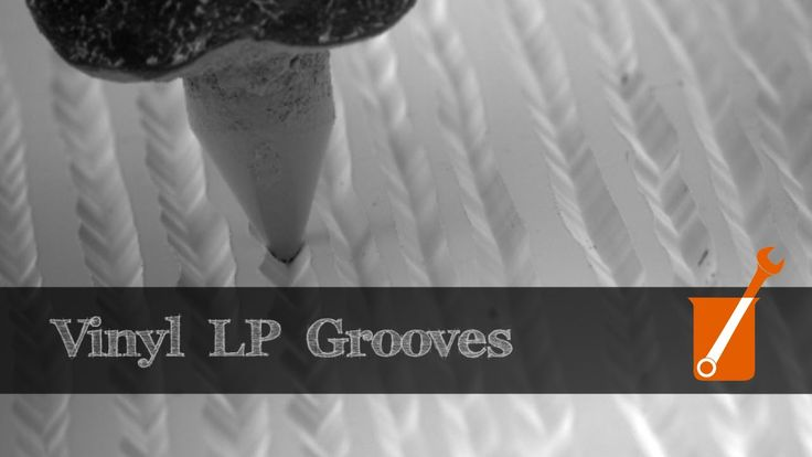 Electron microscope slow-motion video of vinyl LP shows how records convey sound. Very cool.