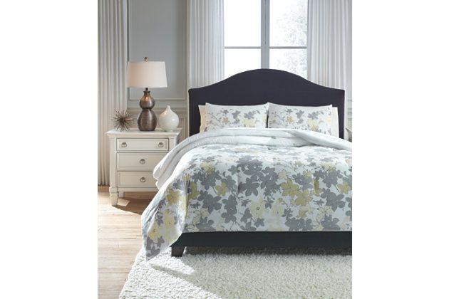 Maureen 3-Piece Queen Comforter Set by Ashley HomeStore, , Polyester (100 %)