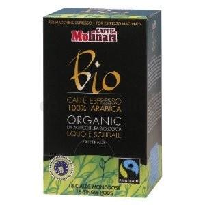 Molinari Bio Organic & Fair Trade Pod, 18db