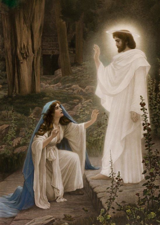 jesus and mary magdalene �jesus saith unto her touch me