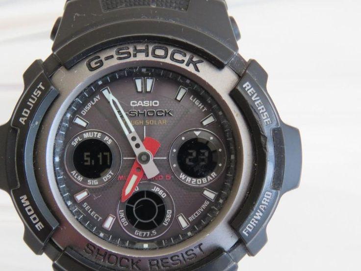 Awg Shock Casio Solar G 1aer 101 Reloj Ananogico YI7vgbf6y
