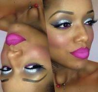 28 Trendige Ideen für Make-up-Ideen für schwarze Frauen Make Up Pink Lips