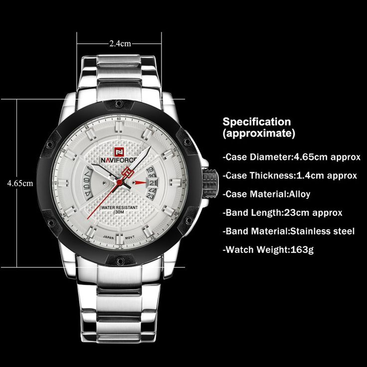 Relógios de homem NAVIFORCE luxo relógios de quartzo esporte prata negócio aço relógio 30M impermeável auto data relógios relógio hombre