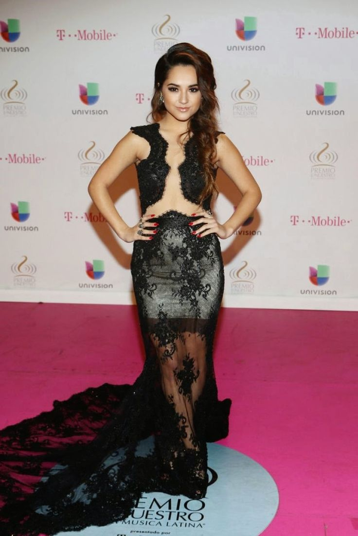 Becky G at Premios Lo Nuestros Awards in Miami