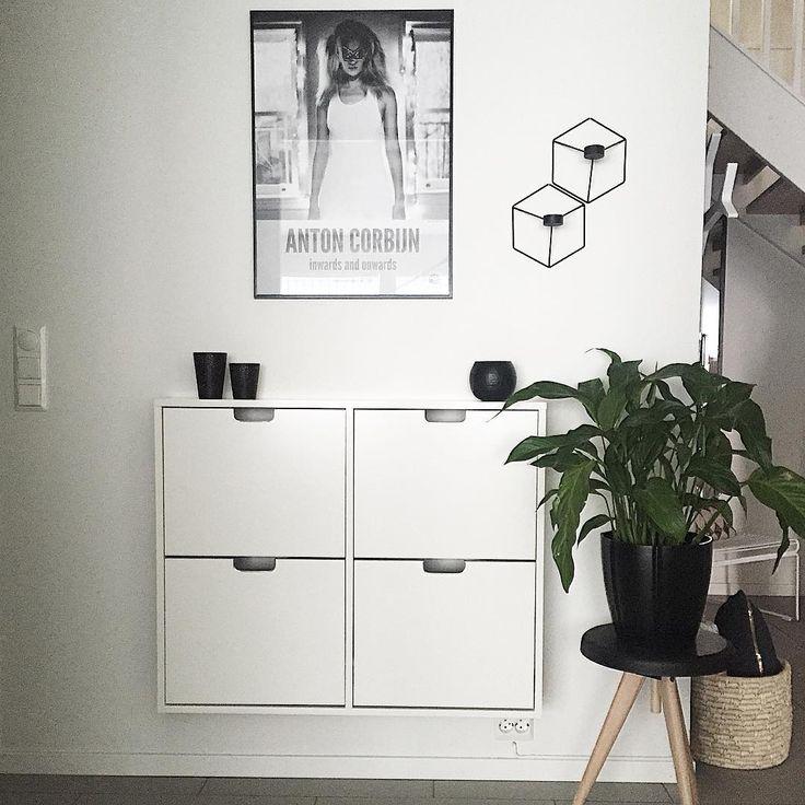 Ikea 'Ställ' shoe cabinet @sk.interior