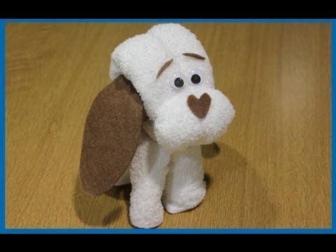 Wonderful DIY Adorable Towel Puppy                                                                                                                                                      More