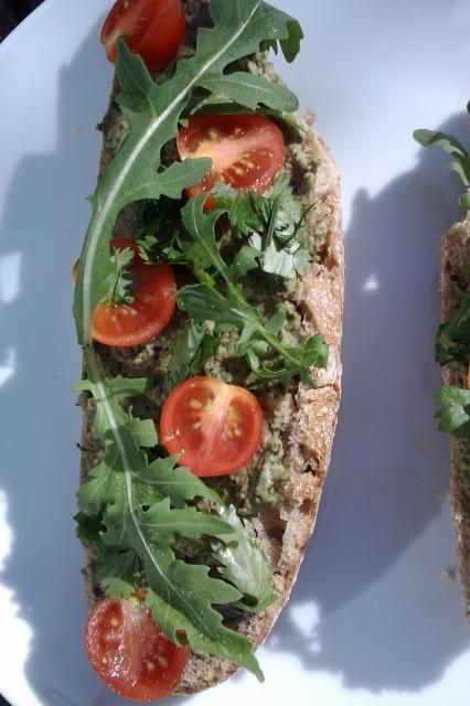 Vegan Arugula Walnut Spread, with White Beans. | Vegan Hummus, Dips ...