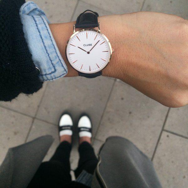 Diese Uhren sind echt der Hammer! Cluse Uhren erhältlich im Benz Mode Café! #clusereutlingen #blaccbird #modereutlingen