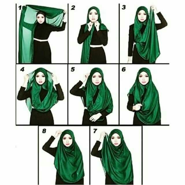 Wide shawl tutorials