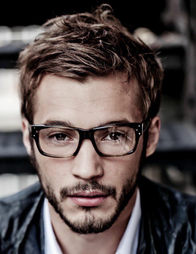 Glatze brille für männer mit Frisuren Für
