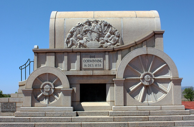 Battle of Blood River Monument by henrileriche, via Flickr
