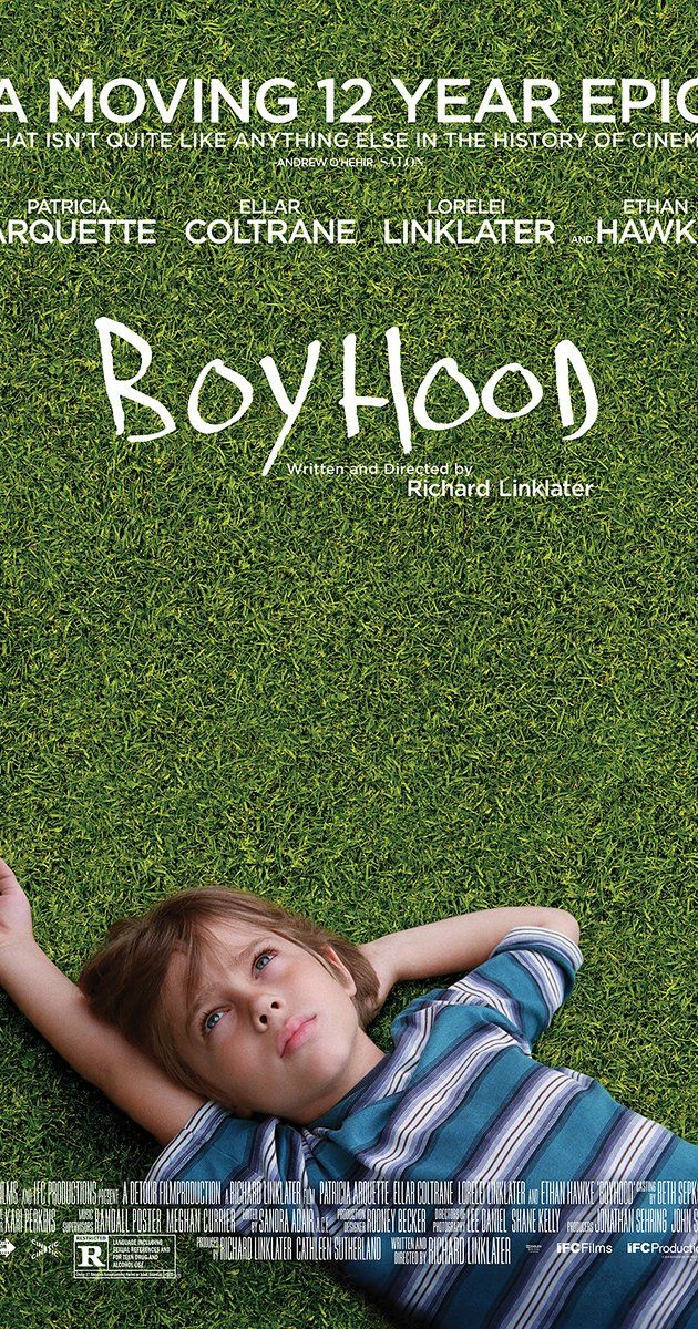 Directed by Richard Linklater.  With Ellar Coltrane, Patricia Arquette, Ethan Hawke, Elijah Smith. The life of Mason, from early childhood to his arrival at college.
