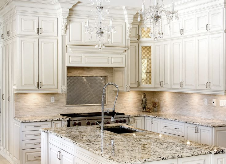 Model Home White Kitchen beautiful white kitchens with granite - destroybmx