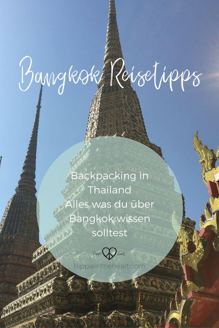 Bangkok Reisetipps - Backpacking in Thailand. Hier erfährst du alles über die Metropole Bangkok, von Übernachtungs- Tipps, Sehenswürdigkeiten, Restaurant Tipps und Shopping Tipps. Bangkok bereisen als Backpacker. #thailand #bangkok #reisen