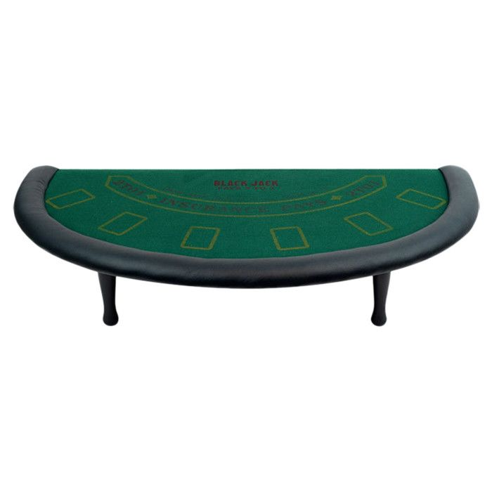 Features:  -Professional graphics on a high quality felt.  -Accessories pictured are not included with table.  -Table has a full set of bumper pads around the table.  -Bumper pads are covered with a h