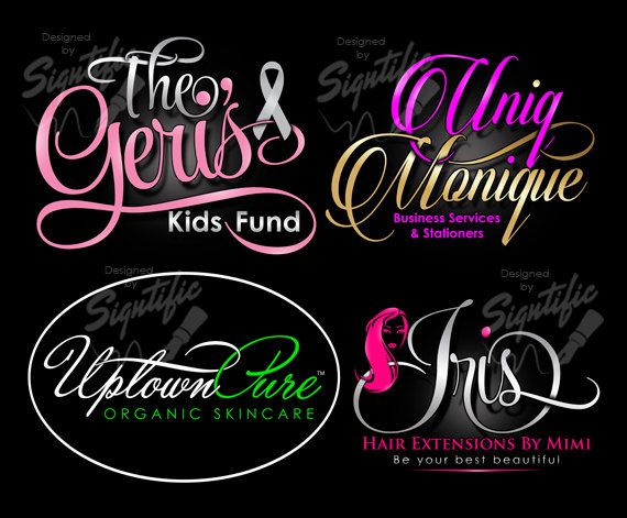 Custom logo logo branding package logos in any by SigntificDesigns