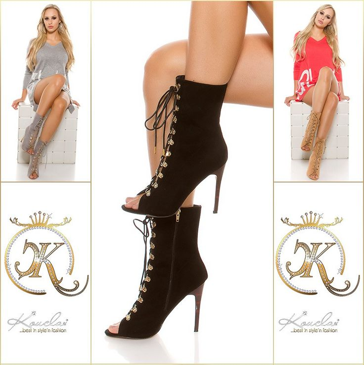 Boots sexy hauts talons fins 12CM - bestyle29.com