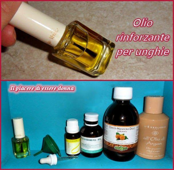 Il piacere di essere donna: Cosmetici fai-da-te: Olio rinforzante per unghie
