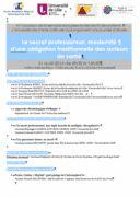 Le secret professionnel, modernité d'une obligation traditionnelle des acteurs de santé http://crdp.univ-lille2.fr/manifestations/detail-manifestation/?tx_ttnews%5Btt_news%5D=2516&cHash=c3bf7d4cd02ba9b4d15d505852fb2cfb