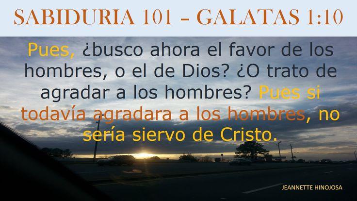 GALATAS 1:10