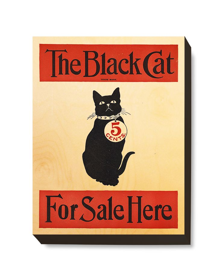 ADV 106 Advertising Art Black Cat Magazine