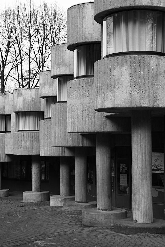 Neviges - Mariendom, Pilgerhaus 1963-1972 / Photo by falkenlust