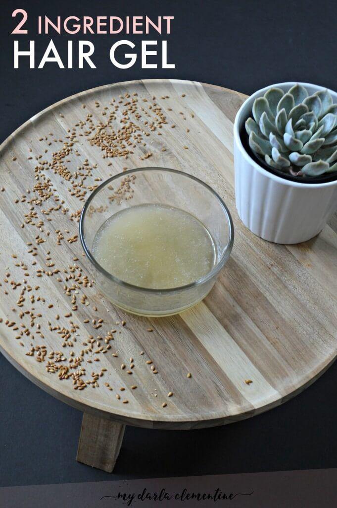 2 Ingredient Flax Seed Hair Gel Essential Oils For Hair