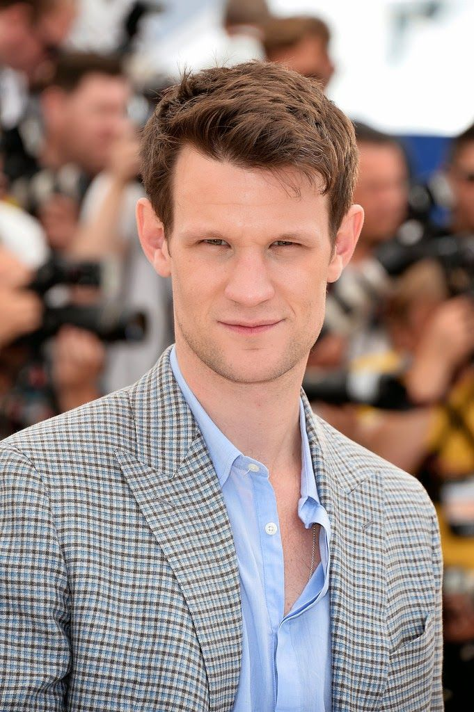 Someone's hair is growing back!! #mattsmith