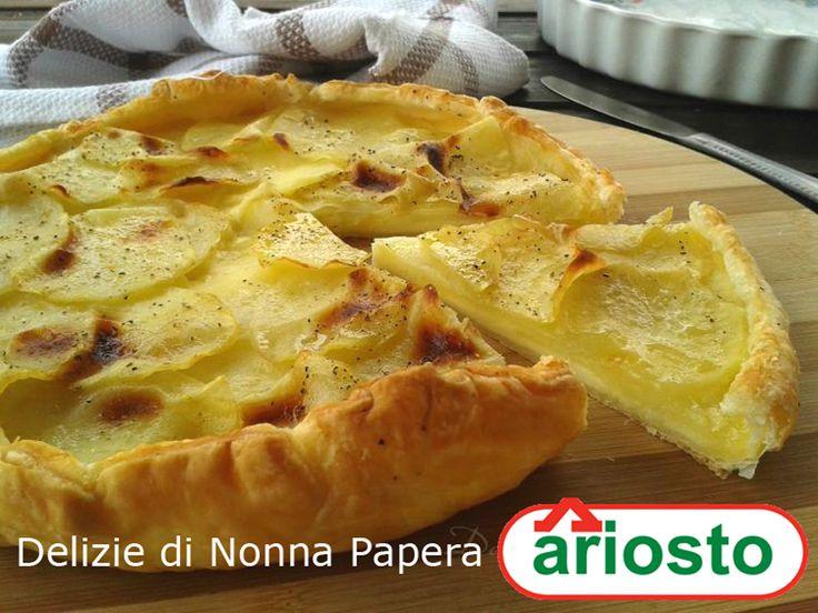 Torta Patate e Formaggio