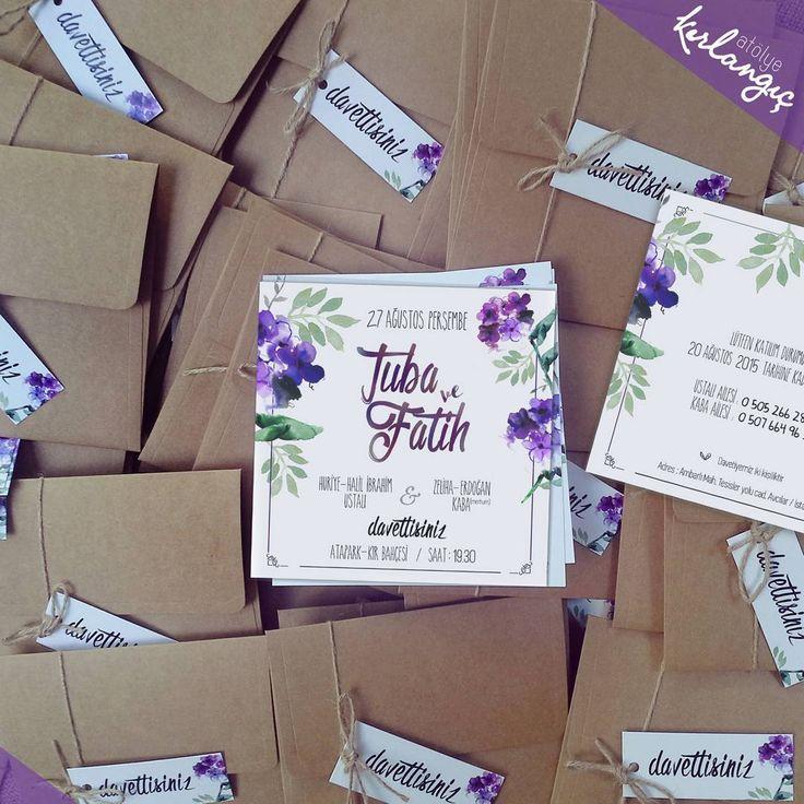 Roman okudum seni düşündüm, Bende tarçın,  sende ıhlamur kokusu 'Cemal Süreya' #davetiye#wedding#tasarım#atolyekirlangic#invitation#card#kina#weddingcard#dugun#davetiyeler#gelin#nisan#vintage#nikah#dugundavetiyesi