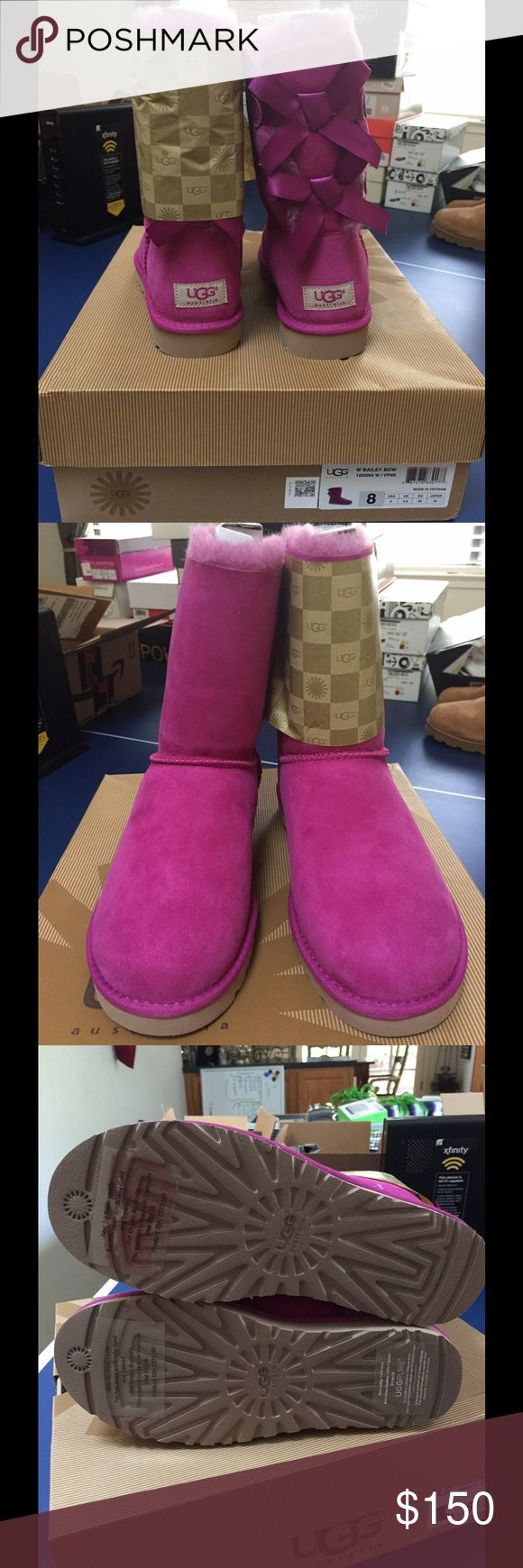Ugg Boots, Guaranteed Authentic Brand new, still in the wrapping and box.  Size 8. Purchased at the Ugg store. Uggs Shoes Winter & Rain Boots