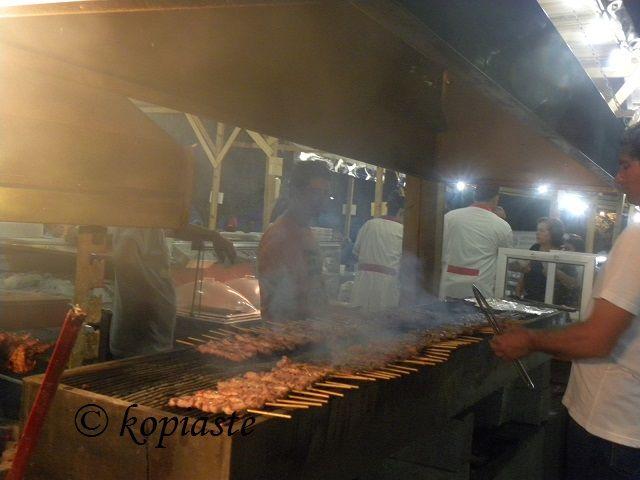 Souvlakia at panigyri (fair)