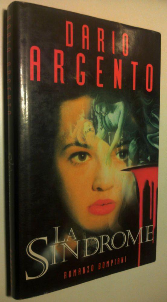 LA SINDROME Dario Argento 1°Edizione Bompiani 1996