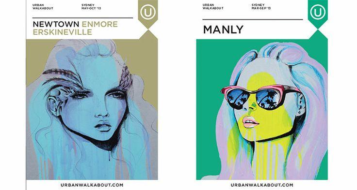 Newtown/Enmore/Erskineville Manly Anya Brock: Cover Artist - Urban Walkabout sydney blog
