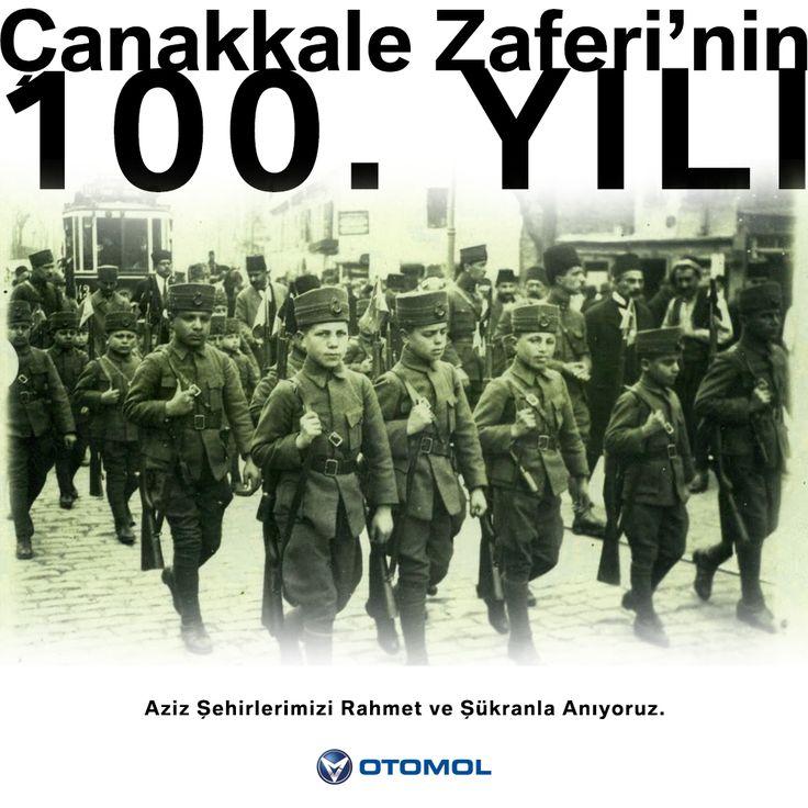 Çanakkale zaferinin 100. Yılı Kutlu Olsun  #18Mart1915 #Tam100YılÖnce Çanakkale Geçilmez
