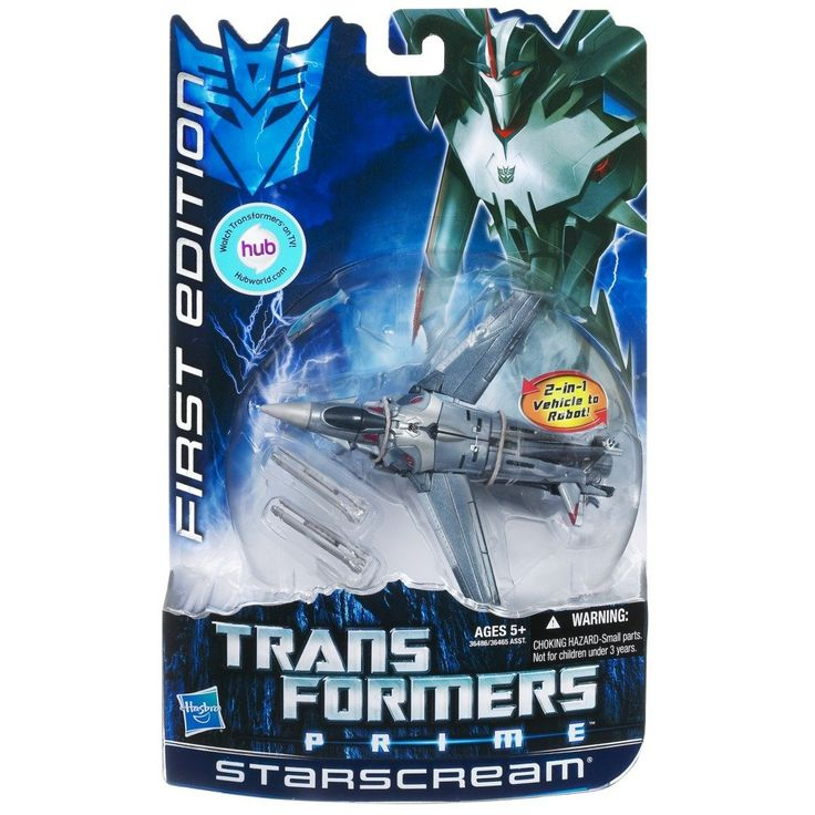 Transformers Prime First Edition Starscream Figure
