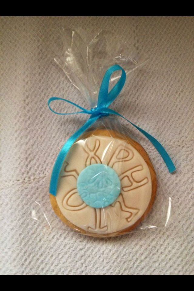 Biscuits for baptism