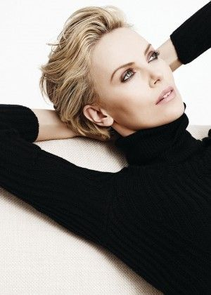 Charlize Theron: Karim Sadli Photoshoot 2014 for Dior -05 Pretty makeup-eyes in rose metallic.