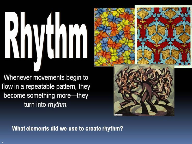 Principles Of Art Rhythm : Images about theorie elements of art on pinterest