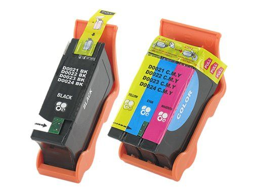 2-Pack Dell (Series 21) Compatible (1 Black Y498D/1 Colour Y499D) Ink Cartridges for use with Dell V313/V313W/V515W/V513W/P713W/V715W Printer - Built with all new components and ink, these cartridges are 100% compatible with your printer and will give you the sharp, clear and professional results to you need for your home or business – Guaranteed. Guarantee: 12 Month Warranty .  - http://ink-cartridges-ireland.com/2-pack-dell-series-21-compatible-1-black-y498d1-colour-y