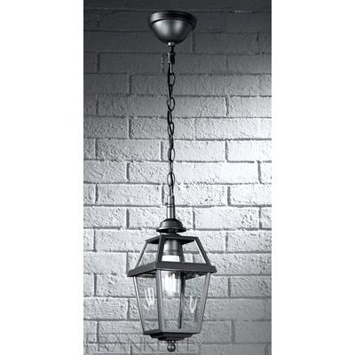 Franklite Nerezza Exterior Chain Suspended Lantern Pendant in Dark Grey | Wayfair UK