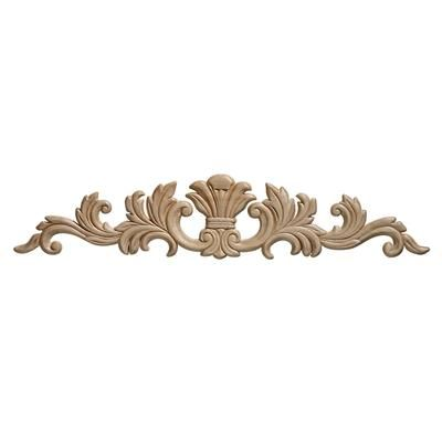 Ornamental mouldings embossed acanthus wood ornament 3 1 for Decorative millwork accents