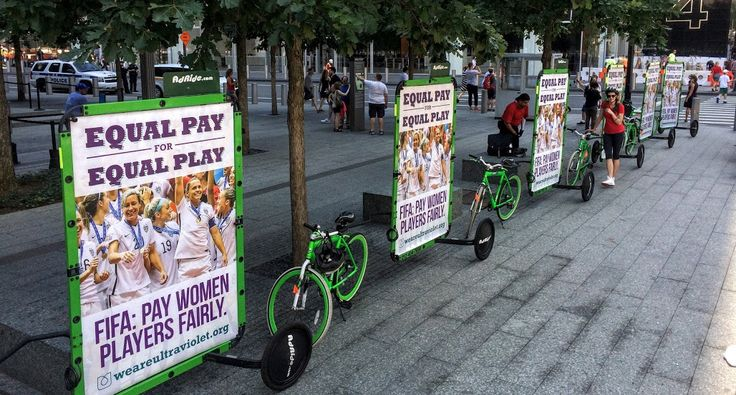 Ads on wheels are a new way to advertise with your bicycle. This billboard name is AdBicy and you need to remember this from now on because is the best Free outdoor advertising option you can have at this moment.