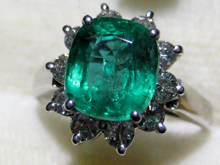 The 25 best Green emerald ring ideas on Pinterest