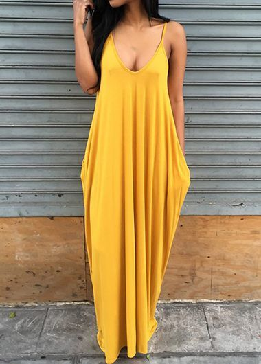 Bohemian Yellow Maxi Dress                                                                                                                                                                                 More