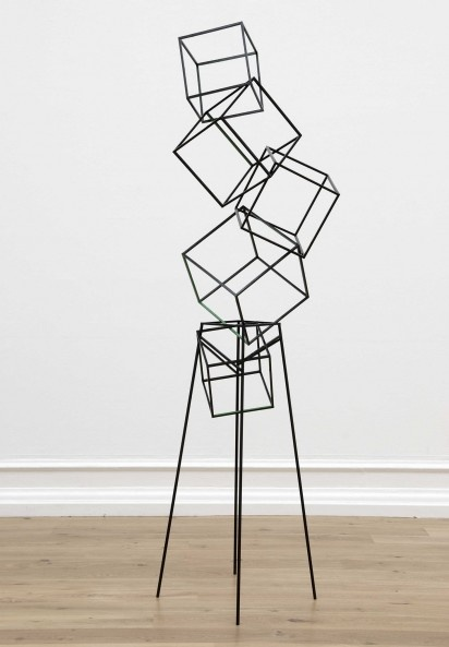 Eva Rothschild #metal #sculpture #art