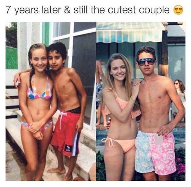25 Romantic Photos That Will Show You The Magic of Childhood Sweethearts
