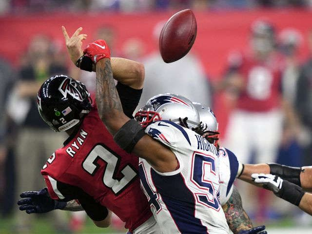 Did Patriots win or Falcons choke in Super Bowl LI?