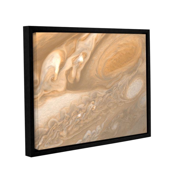 ArtWall Astronomy NASA's Jupiter, Gallery Wrapped Floater-framed Canvas